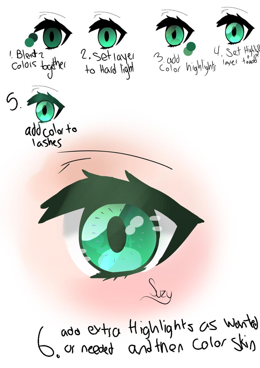 My eye tutorial step-by-step