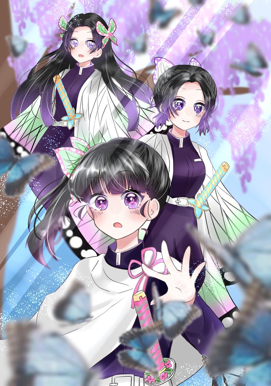 三姉妹 Illust of りある DemonSlayerFanartContest medibangpaint