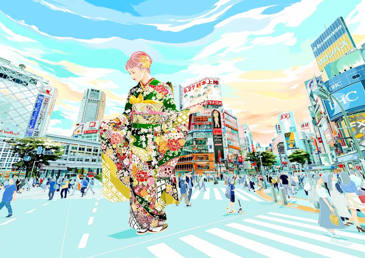 華麗誇世代 Illust of Siu Sai Shun Kyoto_Award2020_illustration