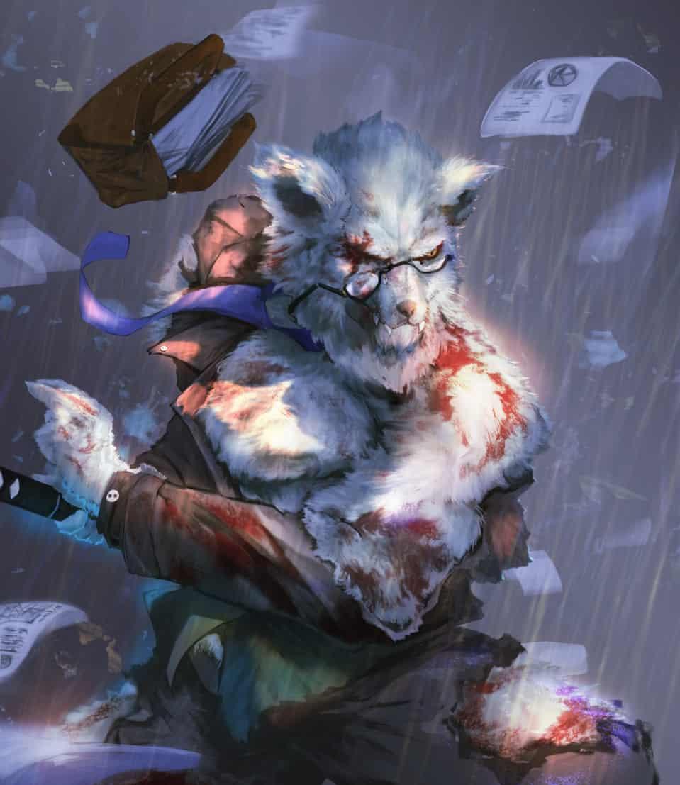 life Illust of 光光 September2020_Contest:Furry furry