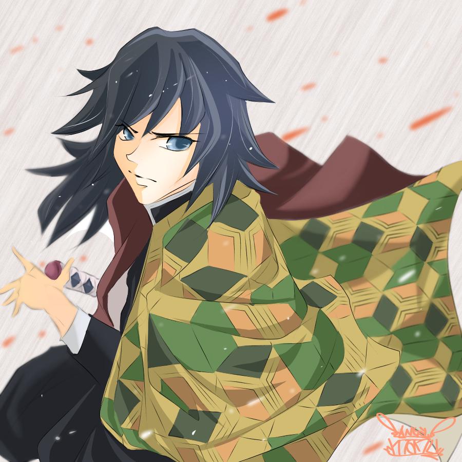 鬼滅の刃♪   義勇kun♪ Illust of Manu digital カラー 義勇 KimetsunoYaiba illustration TomiokaGiyuu