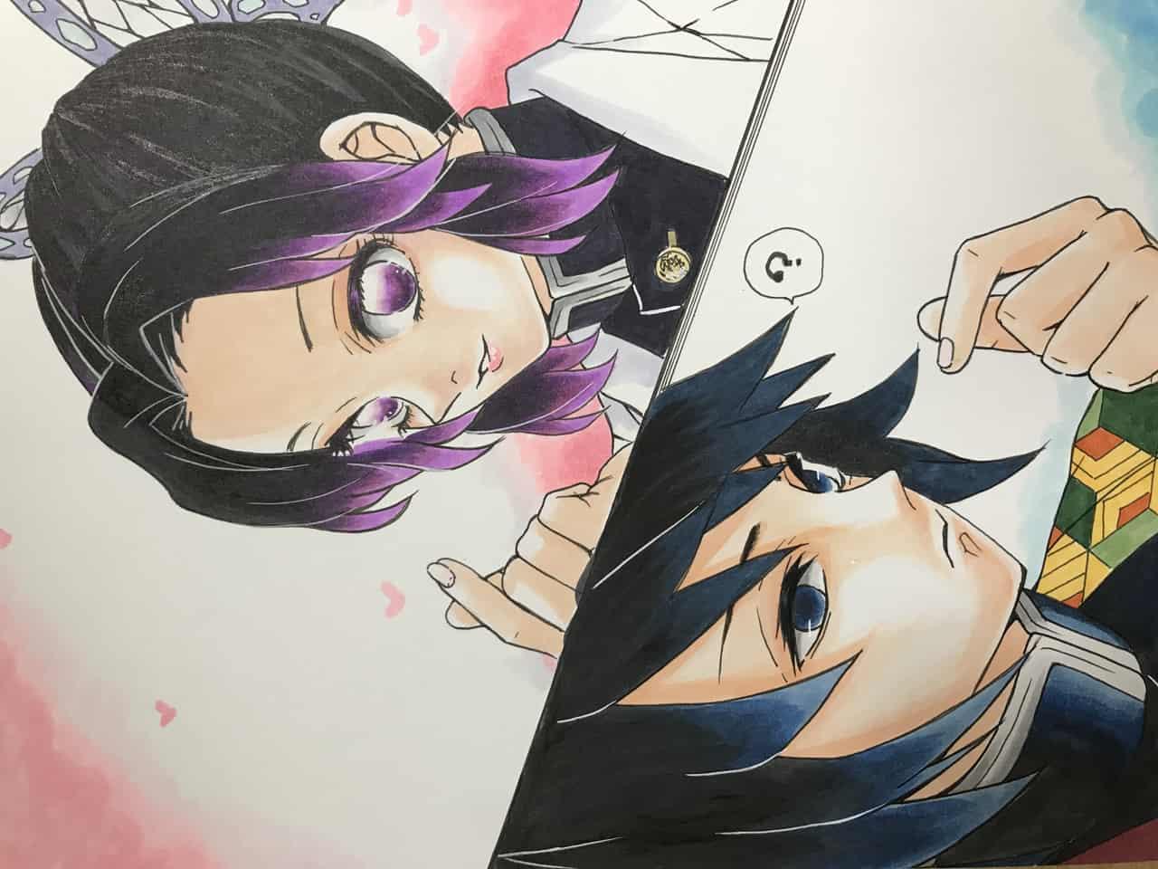 指ハート♥️ Illust of さをり DemonSlayerFanartContest contest fanart KimetsunoYaiba illustration