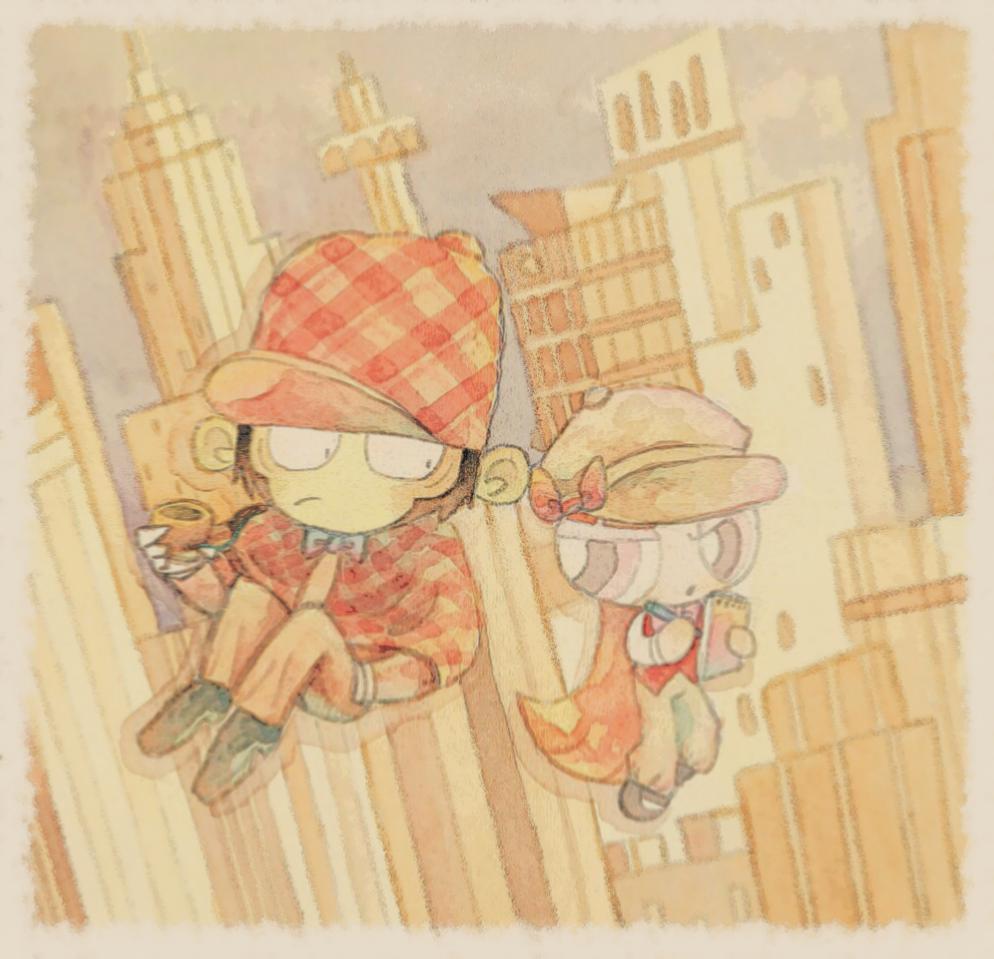[モジョブロ] 探偵と助手