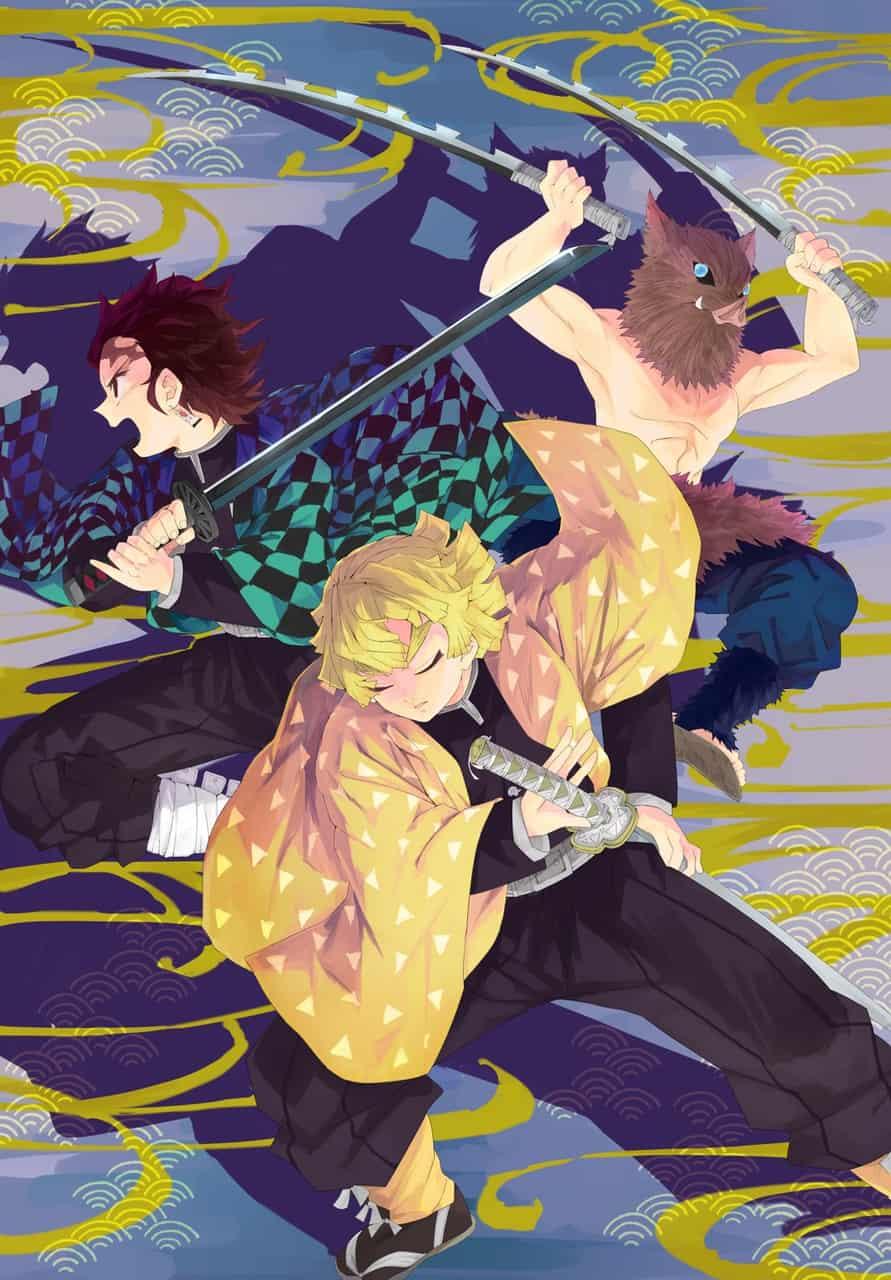 絆 Illust of tanizaemon DemonSlayerFanartContest KimetsunoYaiba