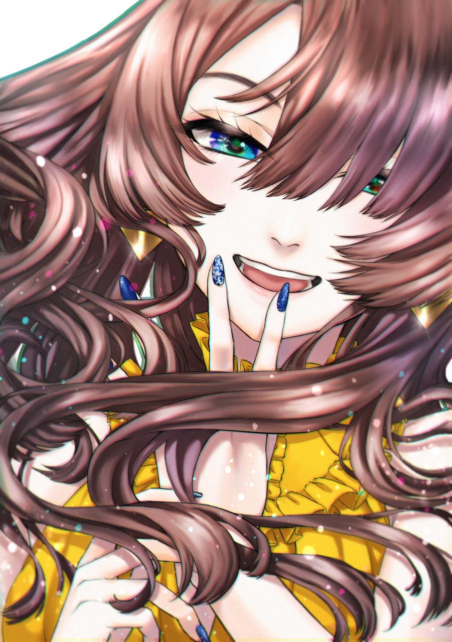 黄 Illust of ぬふふ yellow girl medibangpaint5000 original
