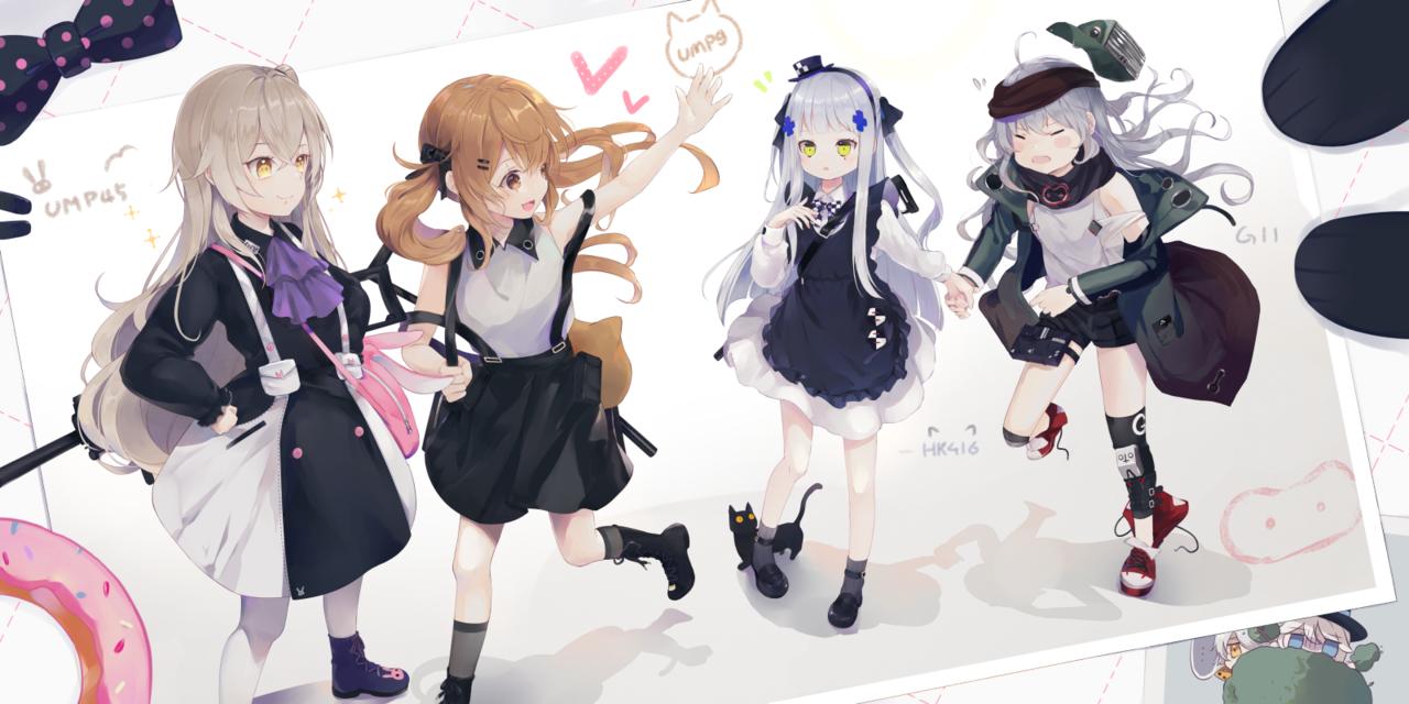 404幼幼小隊 Illust of 唯莎 Girls'Frontline