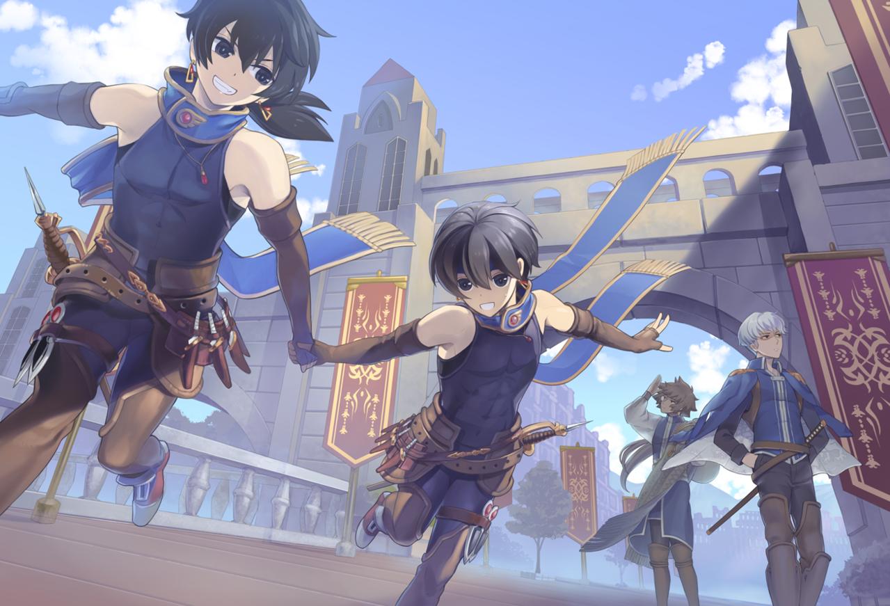 青の世界 Illust of カイセイ fantasy oc original