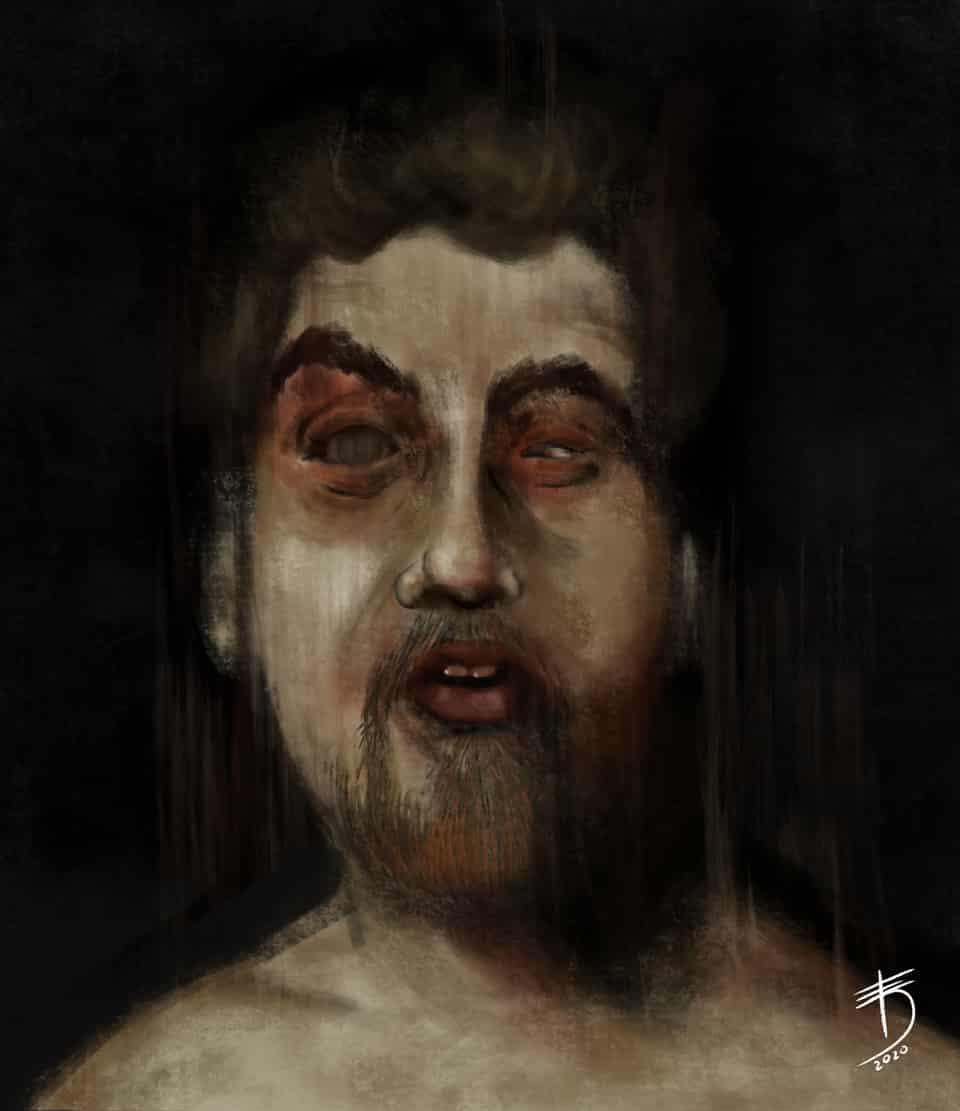 Zombie  Illust of Derwelt August2020_Contest:Horror character painting MediBang medibang medibangpaint iPad_raffle art characterdesign Medibang oc