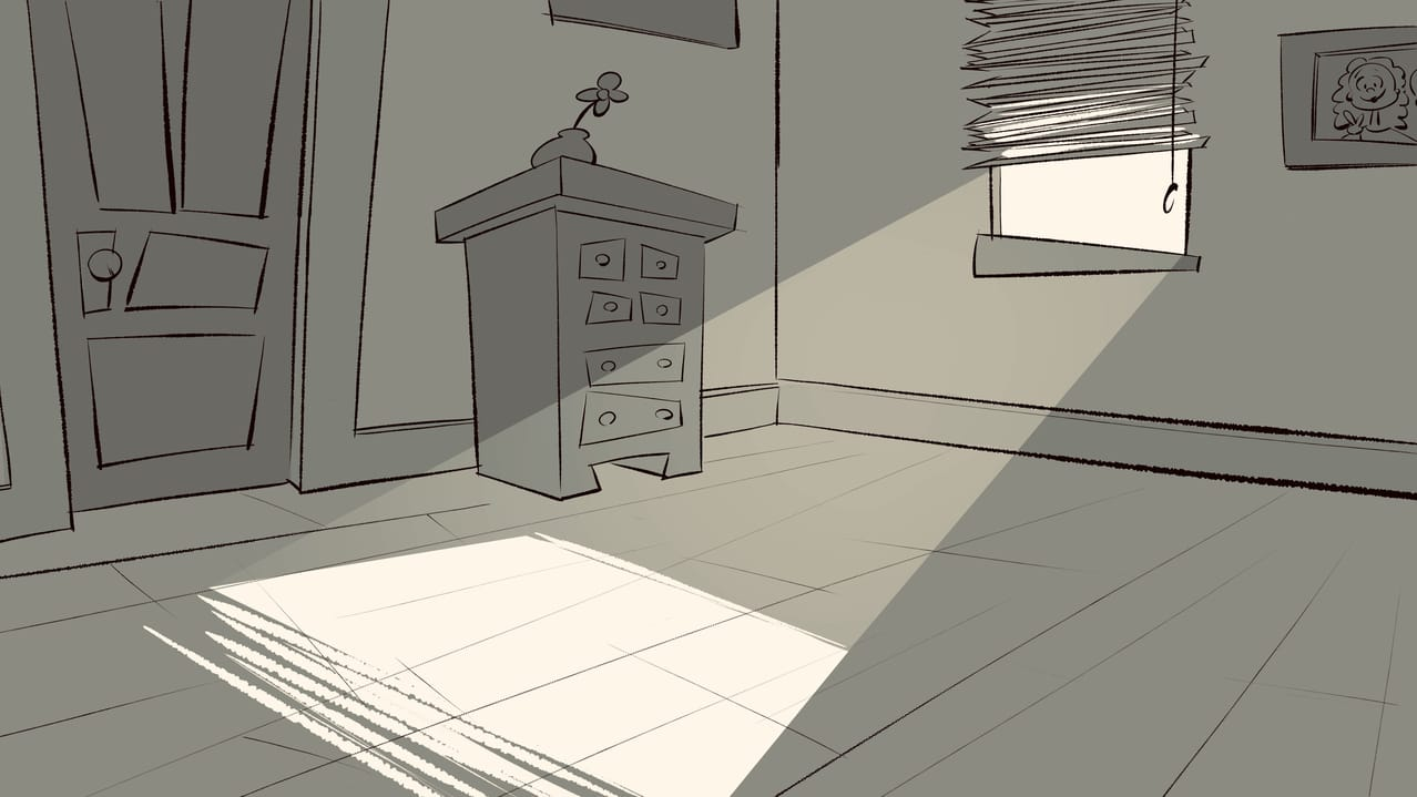 Room Drawing in 1 point perspective!! Illust of Akio doodle drawing animation medibangpaint anime illustration background tutorial