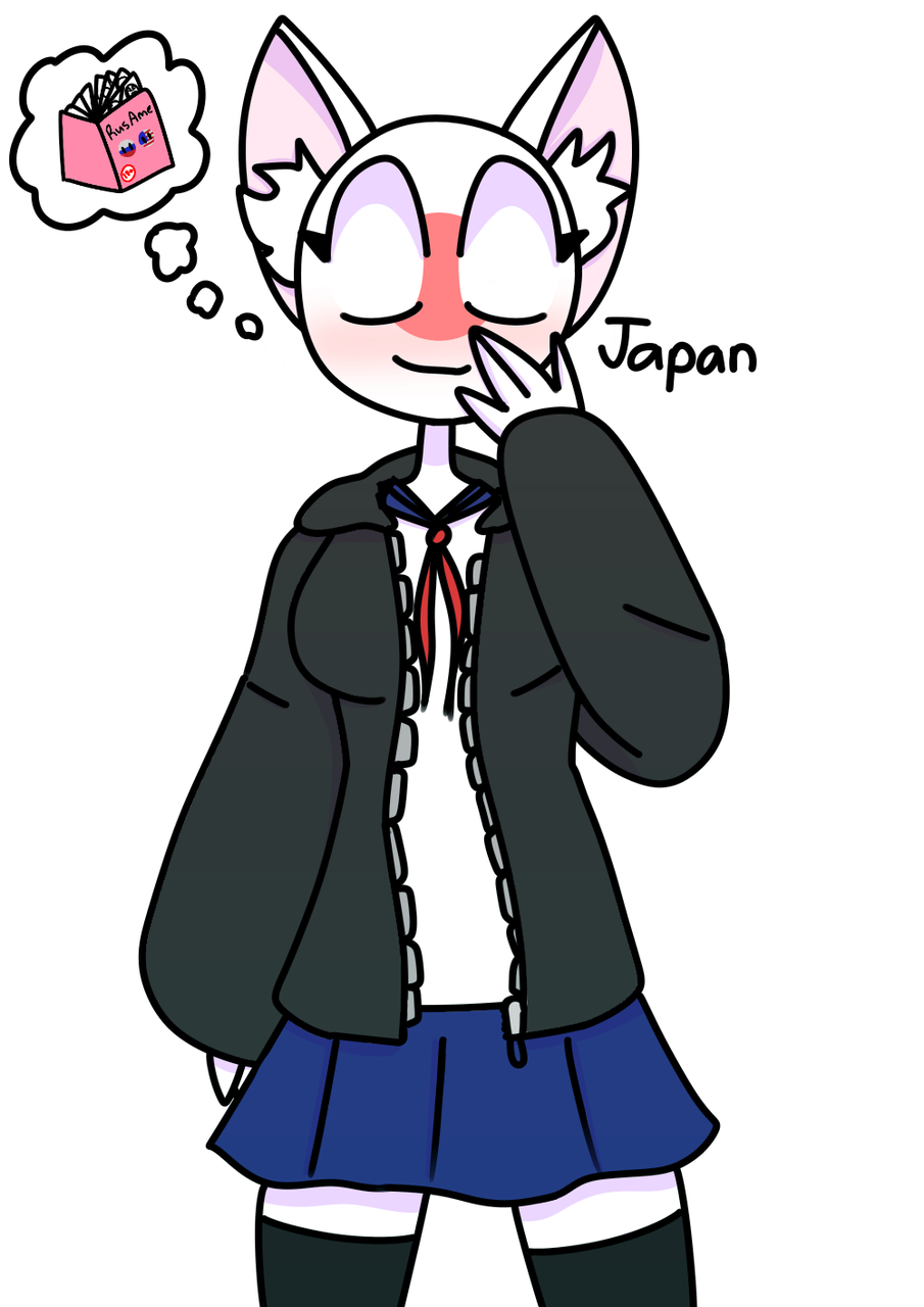 its Japan!! Its my 1st time drawing her.