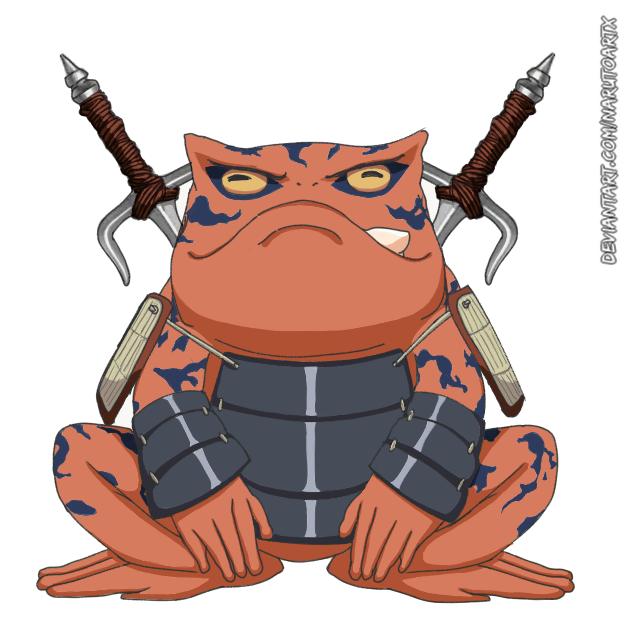 Naruto Gama Fanarts Illust of GinaB Toads fanart gama NARUTO