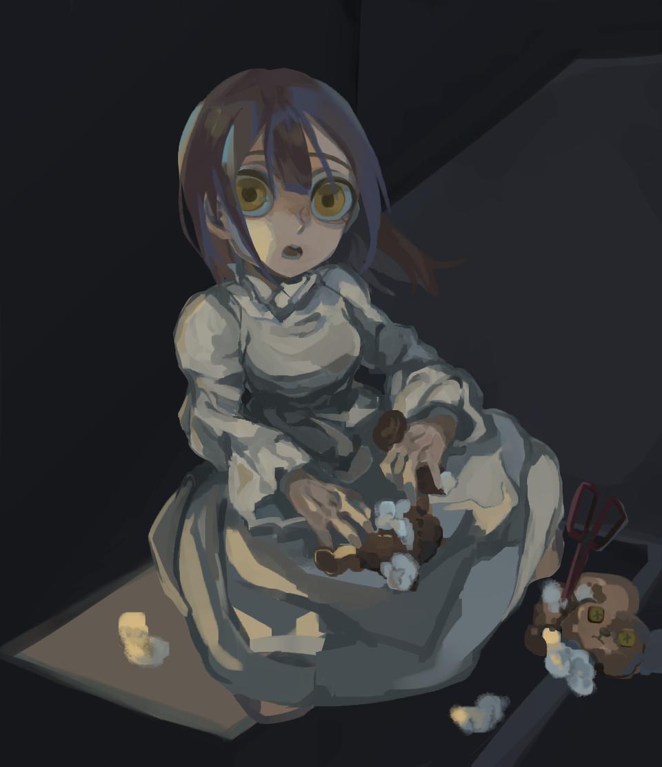 🎭🧸 Illust of Gamae medibangpaint girl お嬢さん oc woman Lady