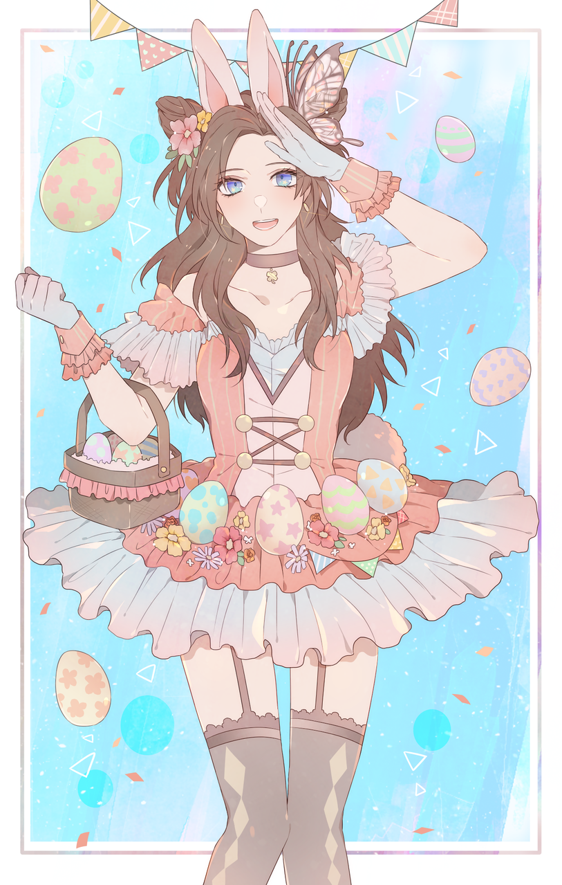❀Happy Easter❀ Illust of なまはむを March.2020Contest:Easter
