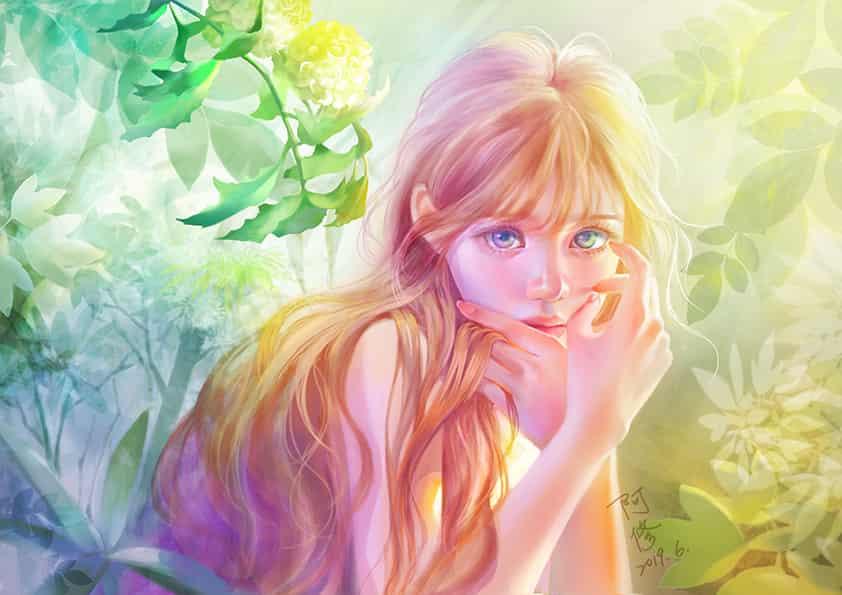 淡彩少女 Illust of dreamingfire