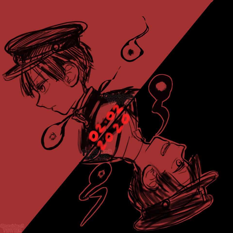 0202/2020 #tbhk #rkgk Illust of 00novi Toilet-boundHanako-kun jshk manga hanakokun hanako 柚木普 花子くん 花子くんアニメ 柚木つかさ 七不思議