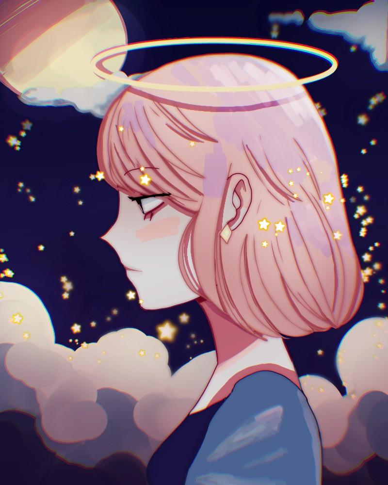 Angel's Twilight Illust of monrura angel