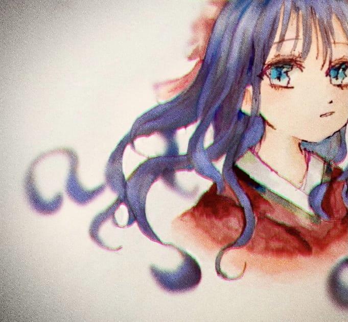 赤根スミレ Illust of ねむこ@しばらくやすみ コメントはします Copic 赤根スミレ girl kawaii medibangpaint illustration fanart Toilet-boundHanako-kun おんなのこ art