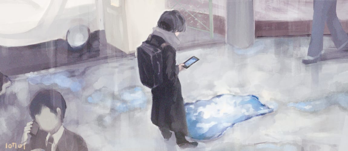 I like it. Illust of トナト Emo original 雨あがり
