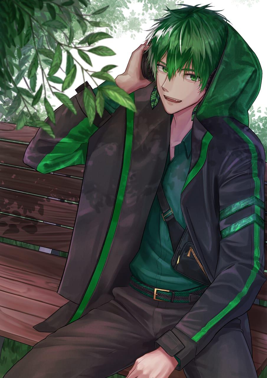 昼下がり Illust of ネフラ green oc illustration フード