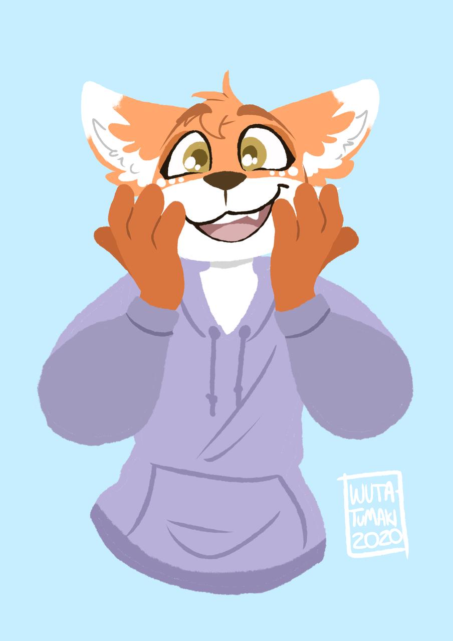Cute fox Illust of Wuta-Tumaki September2020_Contest:Furry