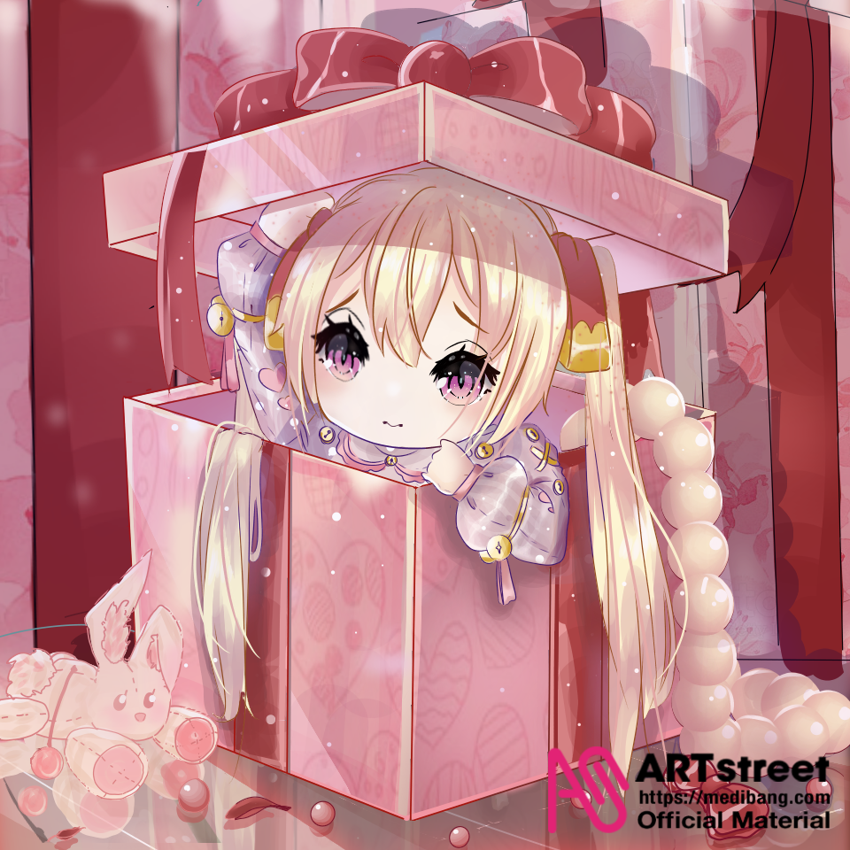 pink doll Illust of Fari tracedrawing4th medibangpaint Trace&Draw【Official】