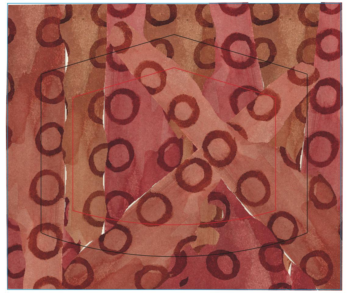 Máscara inspirada em padrões indígenas. Illust of jeannn MaskDesignContest