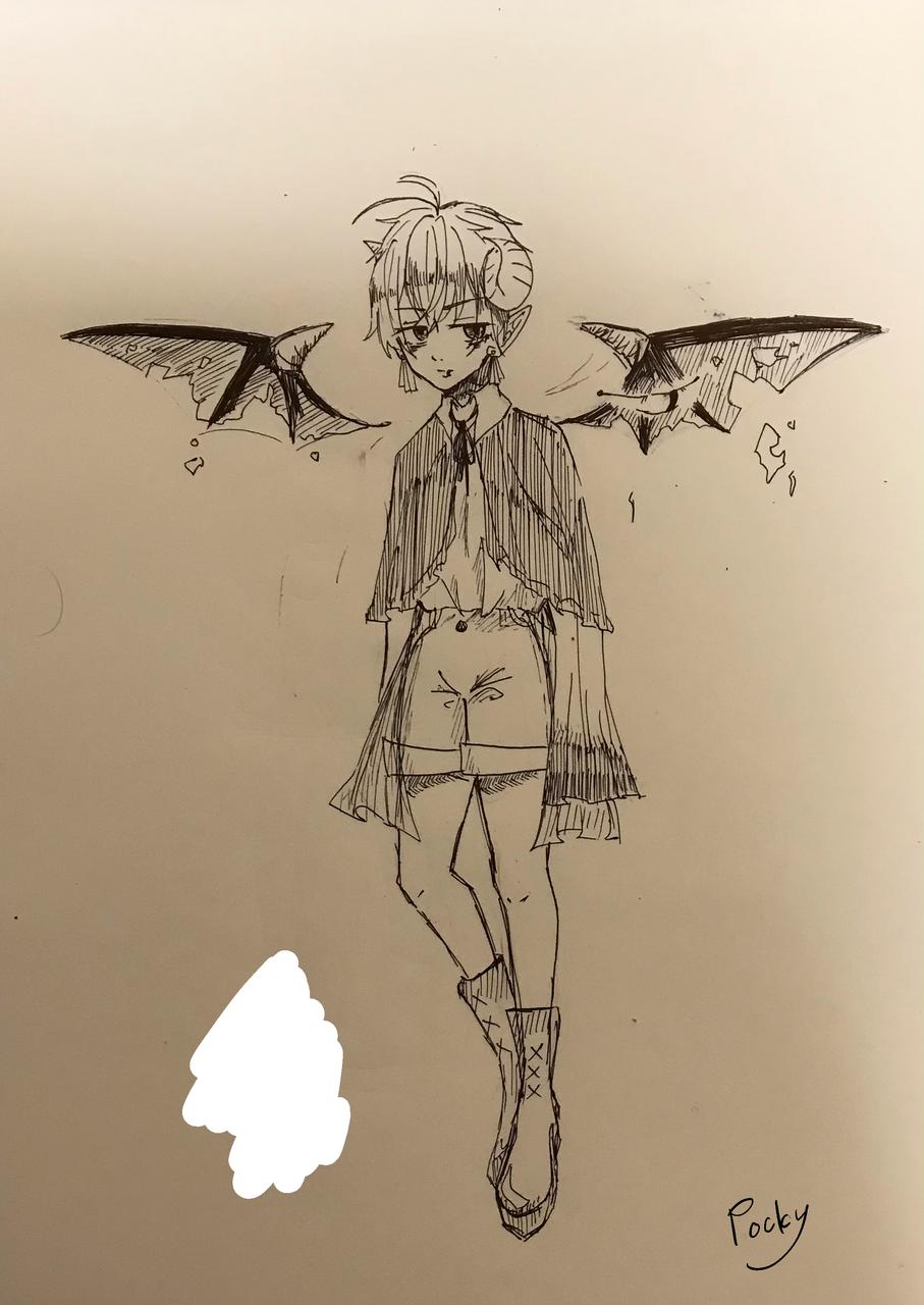 アナログ Illust of ぽっきー medibangpaint