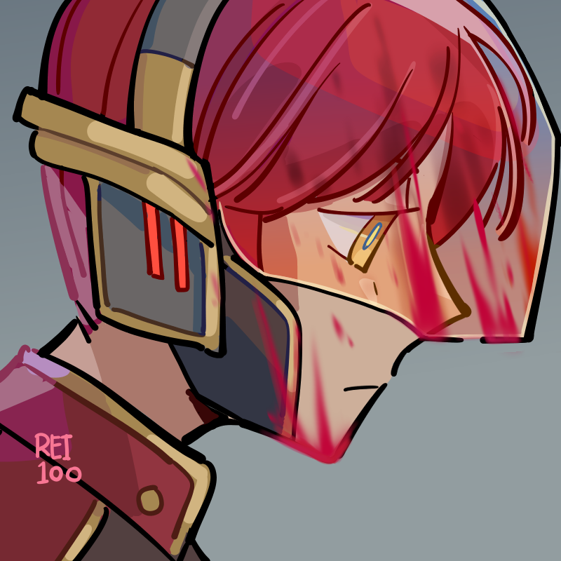 space Illust of rei1OO blood original oc