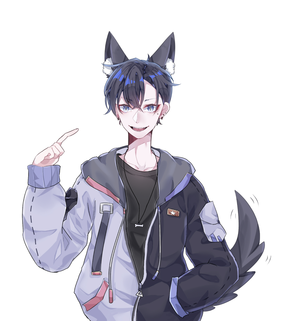 Illust of 板栗好吃哦! medibangpaint animal_ears tail