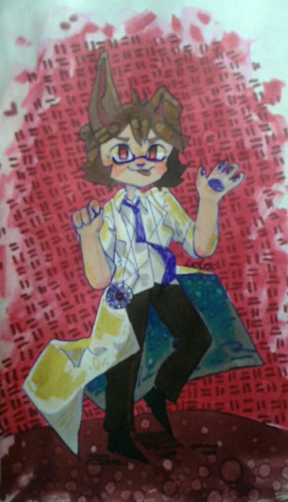 мне капец захотелось нарисовать Бриджа  Illust of CotoCosplay medibangpaint