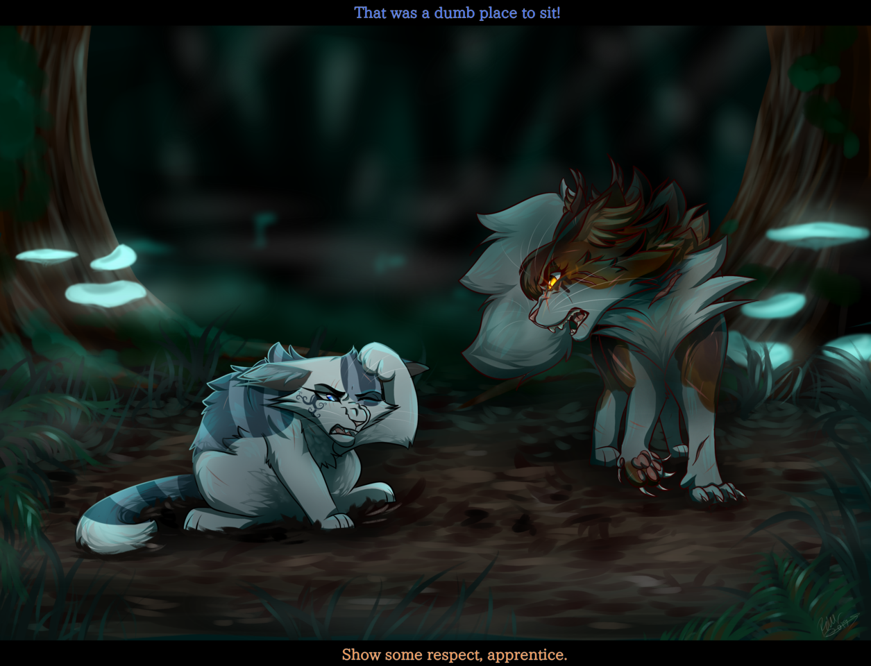 Ivypaw and Mapleshade WC
