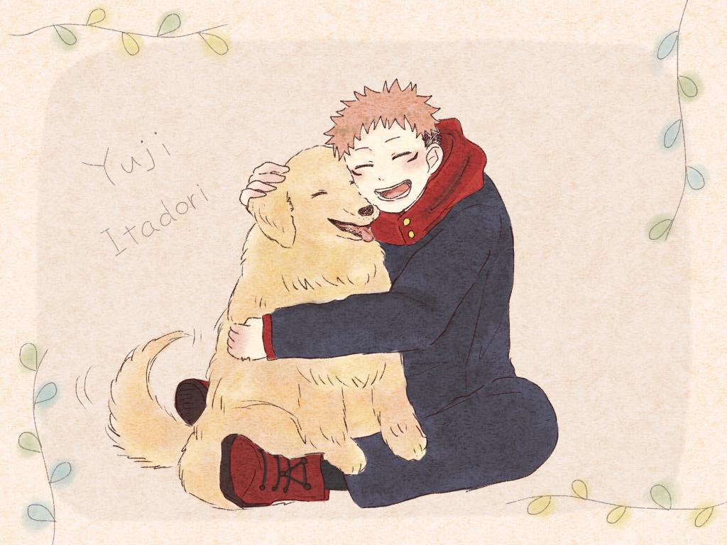 大型犬派 Illust of こん JujutsuKaisenFanartContest JujutsuKaisen Yuji_Itadori