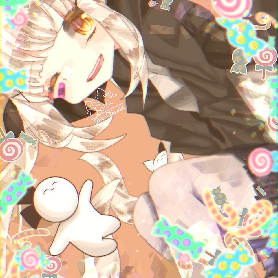 まふかちゃん Illust of OSora まふかのパレット medbangpaint Marfy