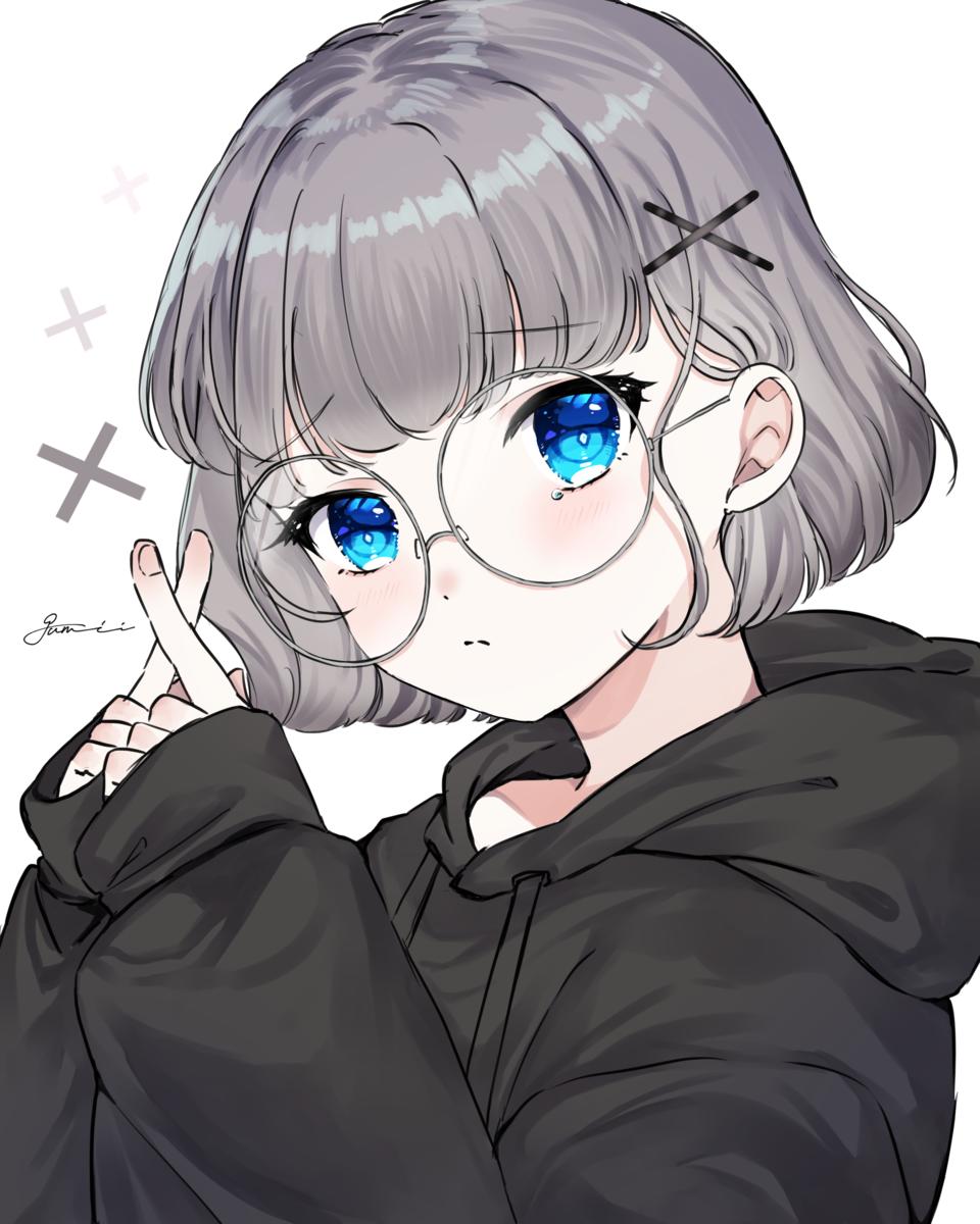 ✖️💧 Illust of ぐみぃ September2021_Girl girl original