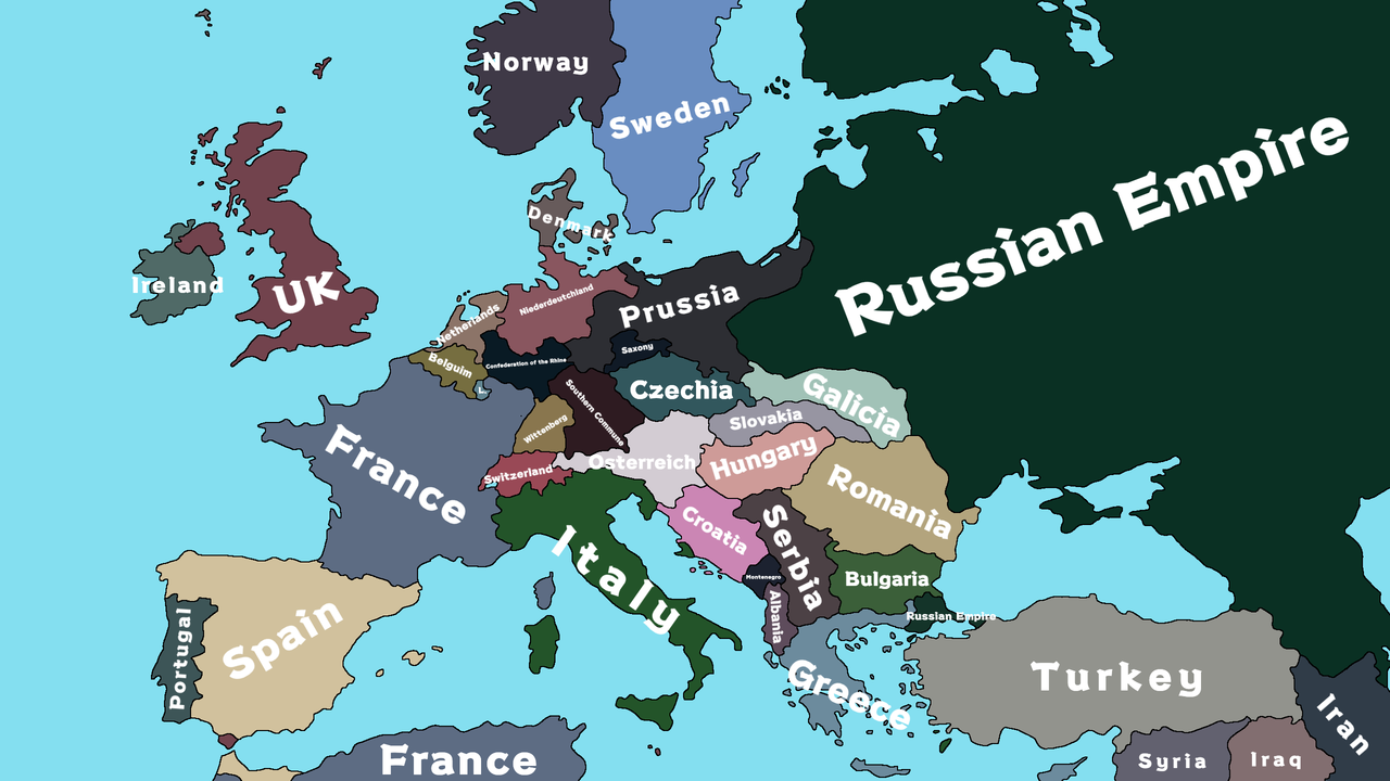 In the name of the Tsar Europe 1936 - Trashy Tuber ...