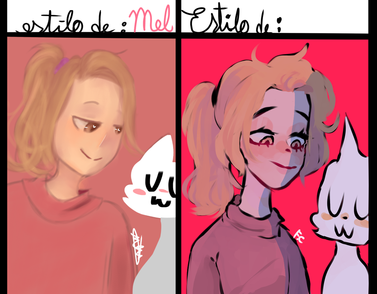 By; Mel 🤧✌💕 Illust of 🍲 F . C 🍲 Noc girl oc