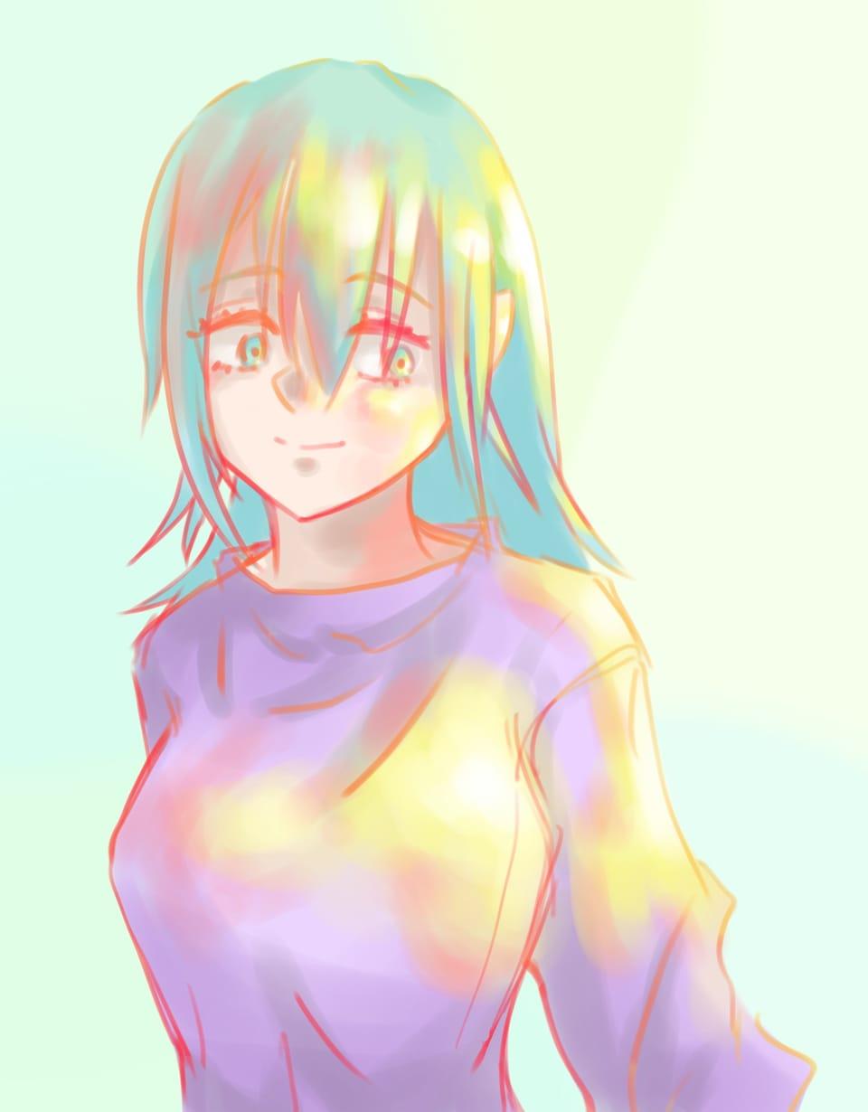 光 Illust of トラバント girl