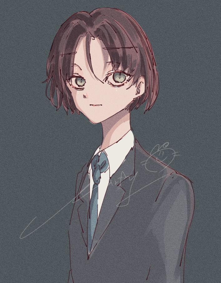 !!!スーツおかっぱ男!!! Illust of Marfy portrait かっこいい boy