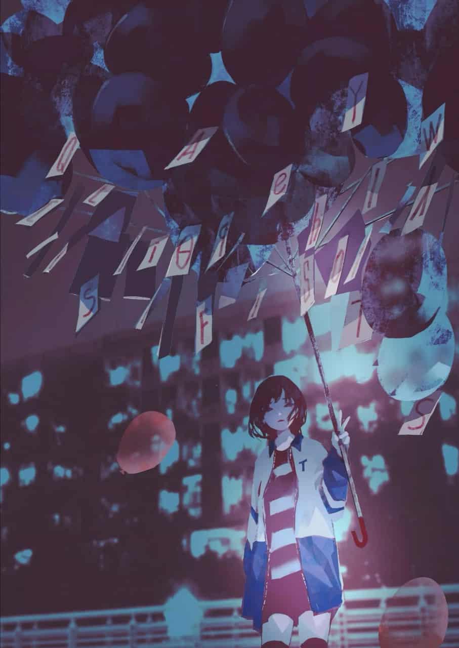 未标题 Illust of kakooooya Jul.2019Contest ジャケット girl Balloon
