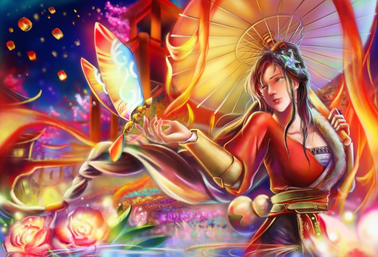 《軒轅劍柒》 Illust of Xin 第一屆繪王盃角色創作大賽 2020第一屆繪王盃角色創作大賽