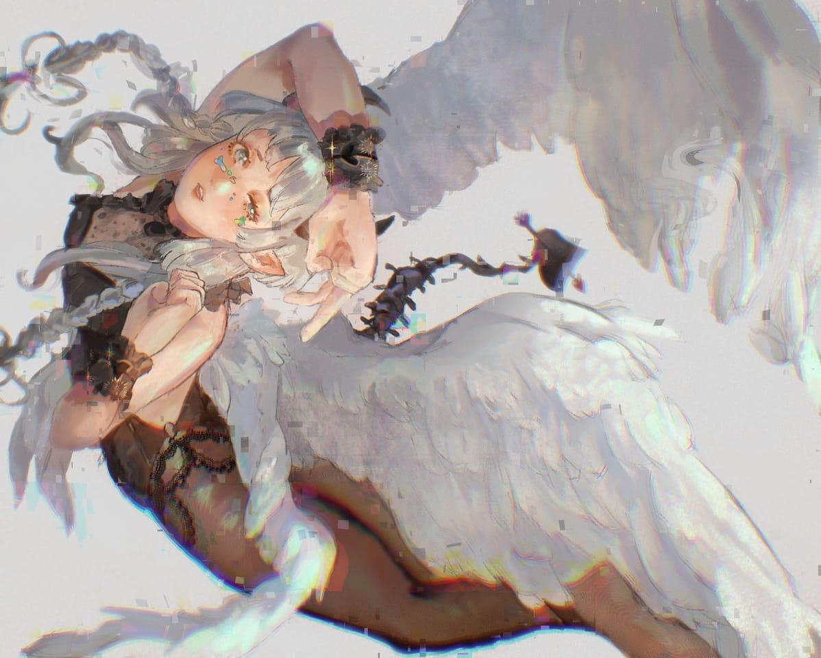 Cos succubus Illust of Tsautan June2021_Anthropomorphism oc girl original