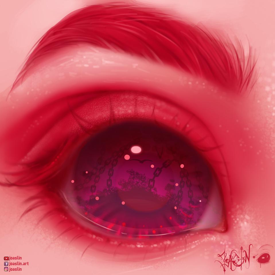 Look 👁 Illust of JoAsLiN ARTstreet_Ranking art eyes girl oc manga original illustration realistic digital cute