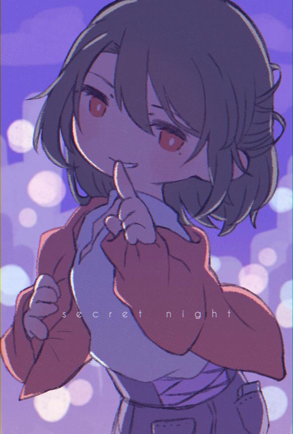 secret night Illust of 中村想 boy oc