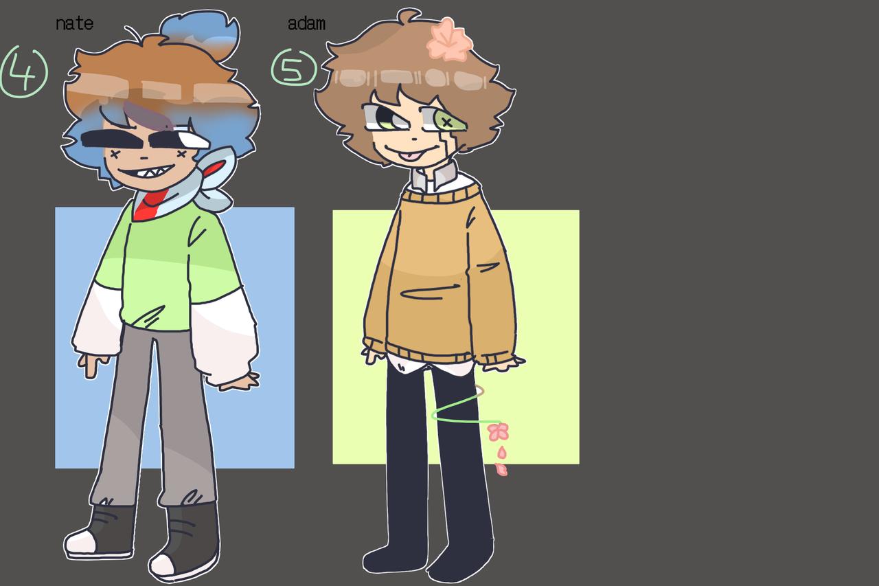 more oc adopts ( I know TwT) Illust of mint mochi oc adopt
