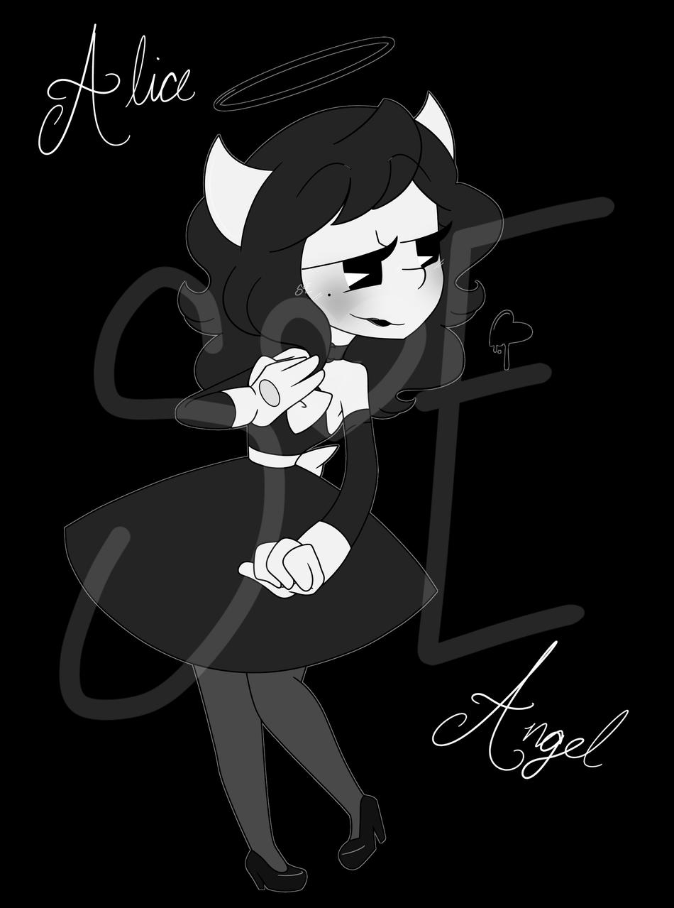 Alice Angel~ Illust of Lady_Cathastrofe medibangpaint BatIM fanart AliceAngel