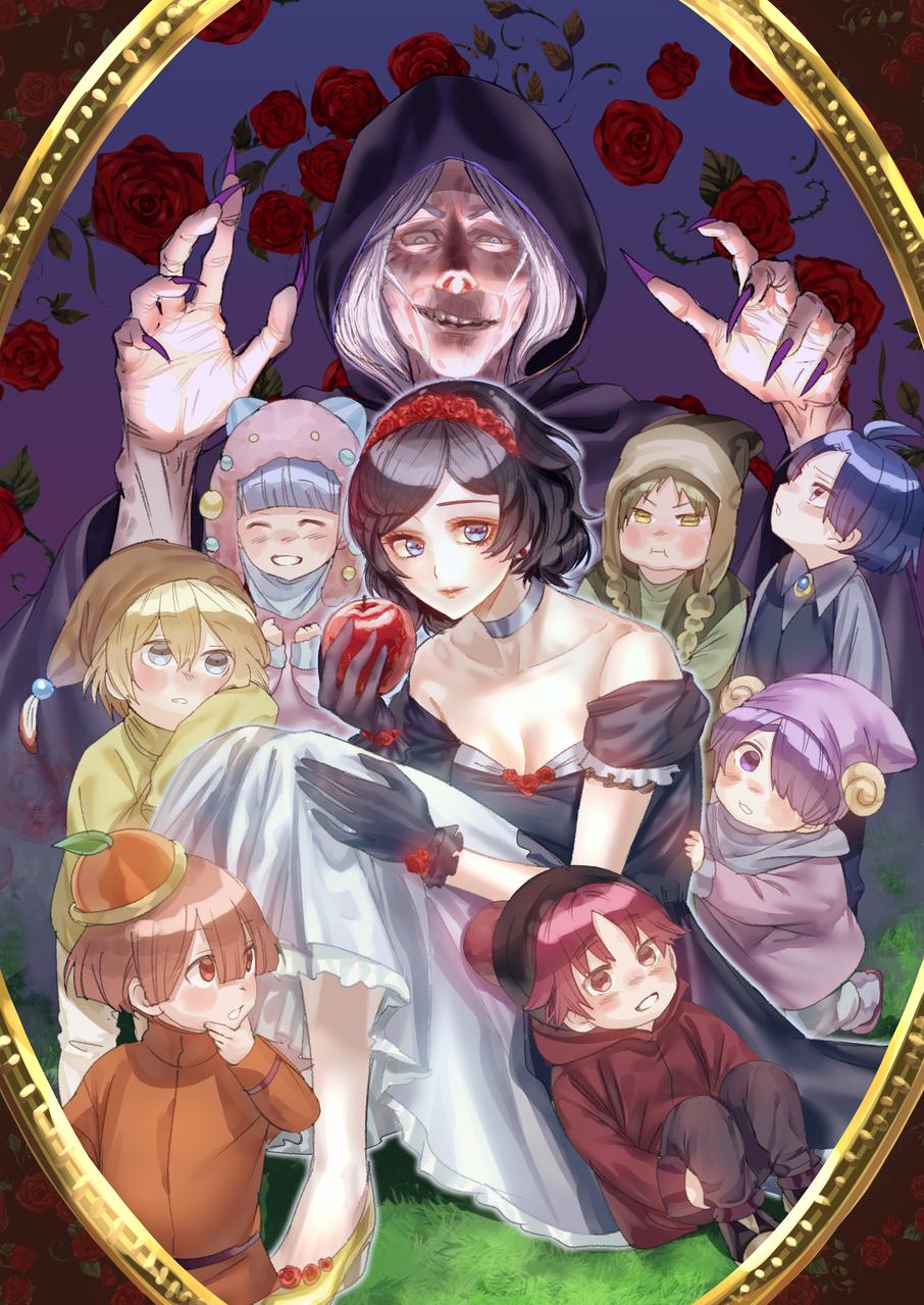 白雪姫 Illust of 97 Aug.2019Contest