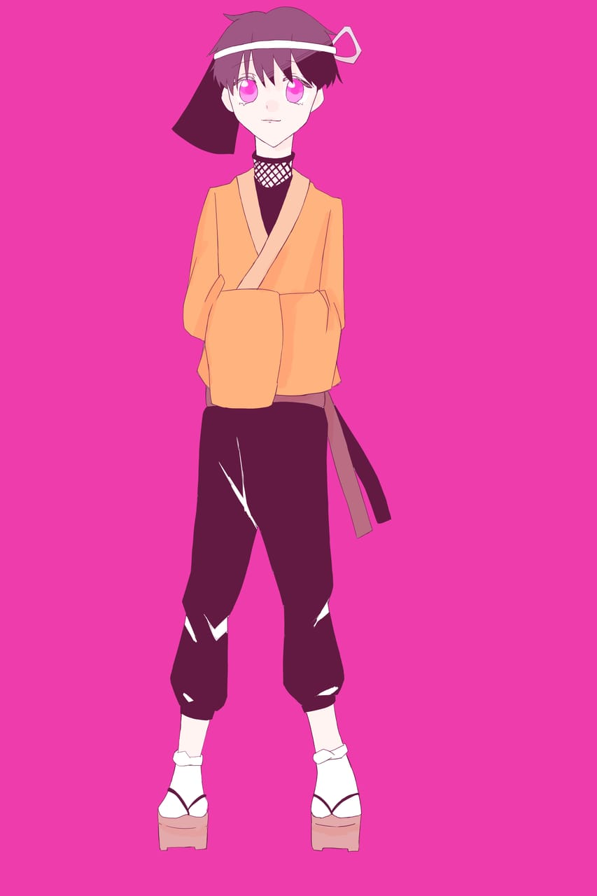 ロロロ Illust of おみそ#田舎同盟 CLIPSTUDIOPAINT fanart ロボロ boy illustration 実況者 ○○の主役は我々だ! pink