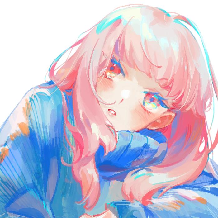 - Illust of ilion 縦セタ girl pinkhair original