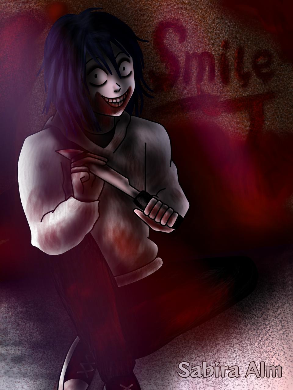 Jeff Illust of Sabira Alm horror August2020_Contest:Horror medibangpaint illustration painting Artwork digital art drawing