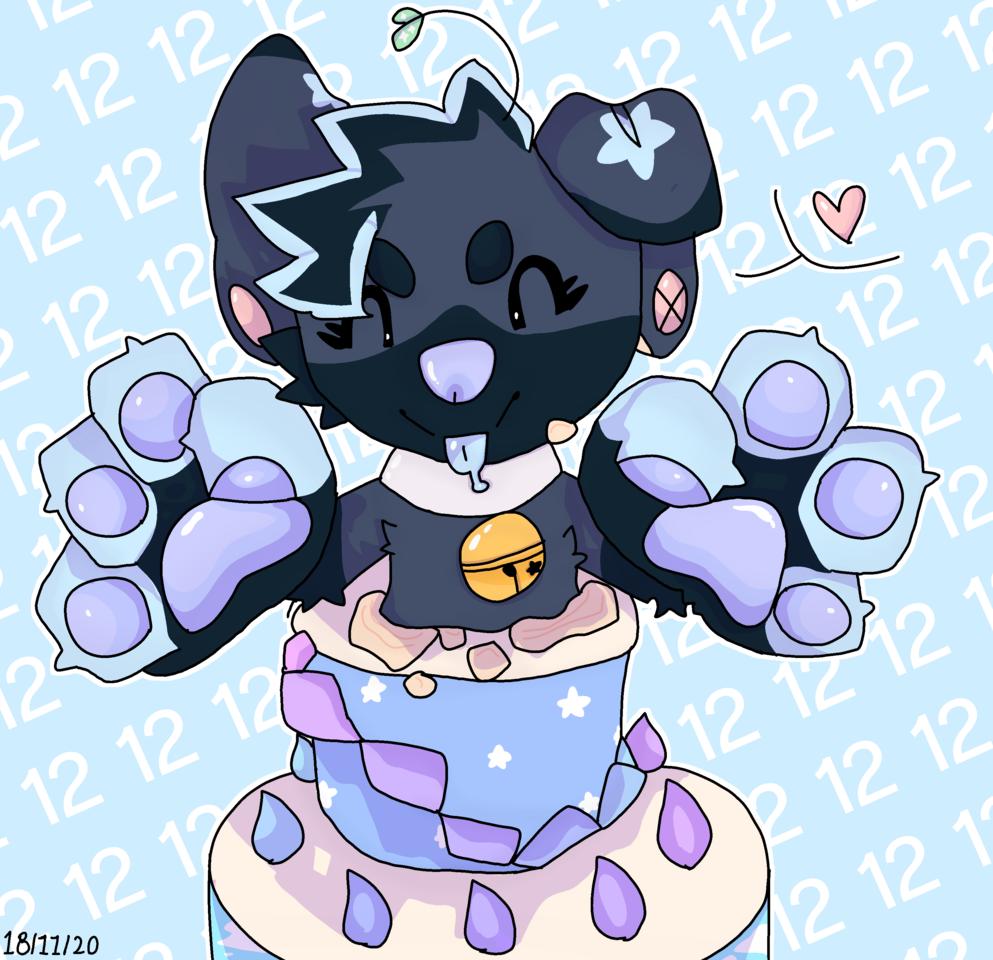 Happy B-day Sleepyxx!!! Illust of Snowflek009 medibangpaint